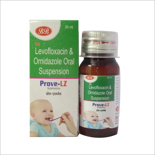 Levofloxacin And Ornidazole Oral Suspension