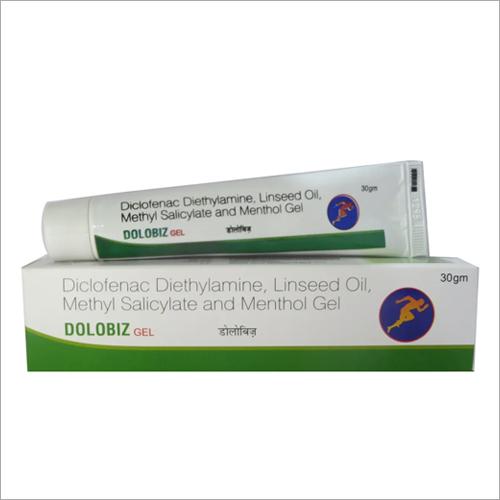 Diclofenac Diethylamine Linseed Oil Methyl Salicylate And Menthol Gel