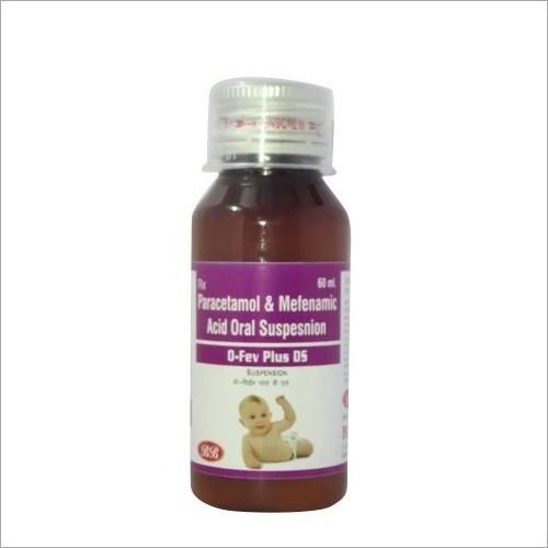 Paracetamol And Mefenamic Acid Oral Suspension