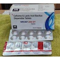 Cefixime Dispersible Antibiotic Tablet