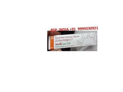 Influvac Junior 2020 0.25ml Syringe