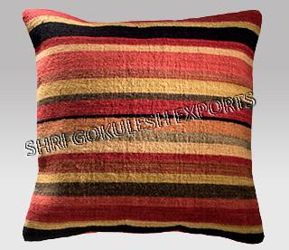 Square Handmade Woolen Sofa Cushion Pillow Covers