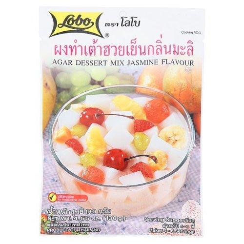 Lobo Cold Soya Bean Powder Jasmine Flavor 130 grams