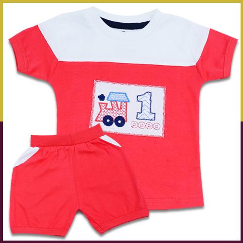Sumix  Siril Baby Boys T Shirt And Shorts