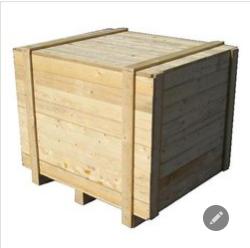 Silver Wood Box