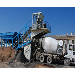 Horizontal Concrete Batching Mixing Plant