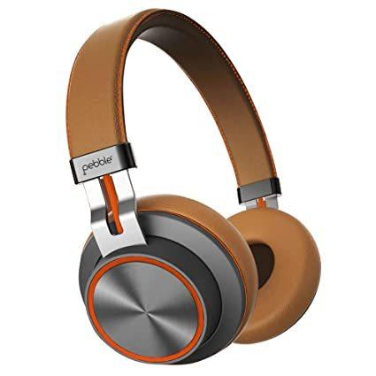 Pebble Zest Pro Wireless Headphone||Deep Bass|High Sensitive In-built Mic|Effective Noise Cancellation