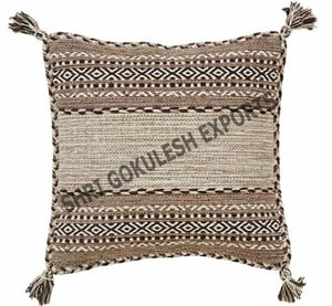 100% Cotton Cushion Covers with Tassels