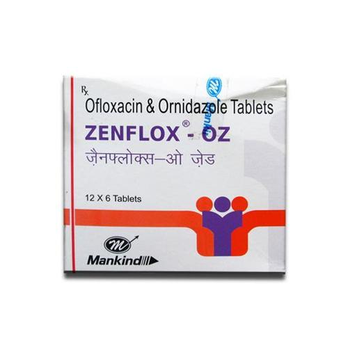 Ofloxacin & Ordinazole Tablet