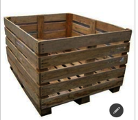Rubberwood Crate