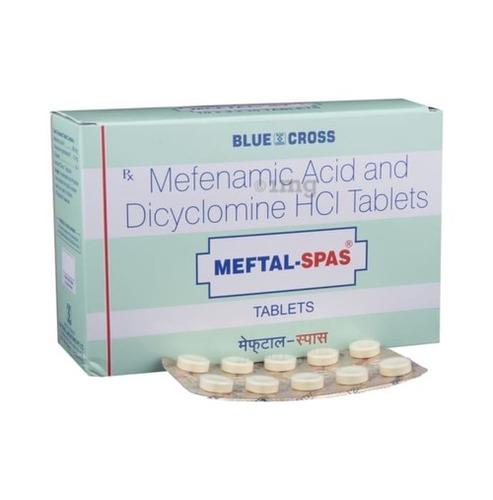 Mefenamic Acid And Dicyclomine Tablets