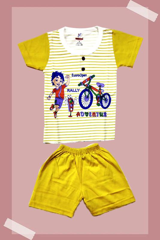 Kids Printed T-shirt and Pant