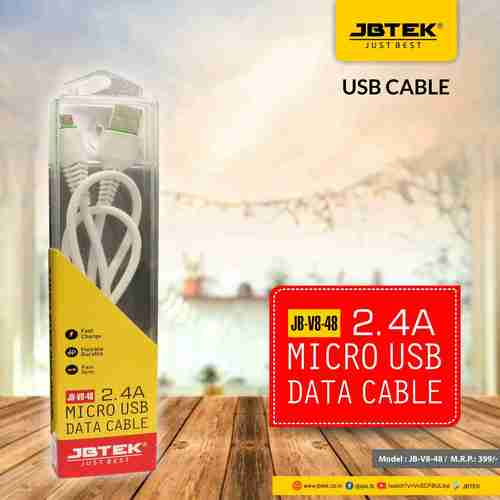 JBT-48V8 Fast Charging Data Cable