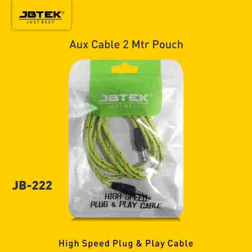 JBT-2222 mtr AUX Audio Cable