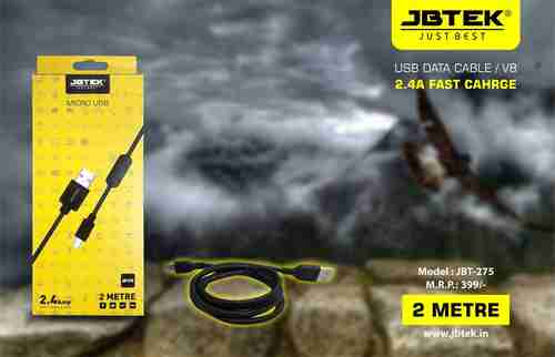 JBT-275V8 Fast Charging Data Cable