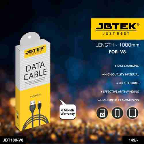 JBT-108V8 Fast Charging Data Cable