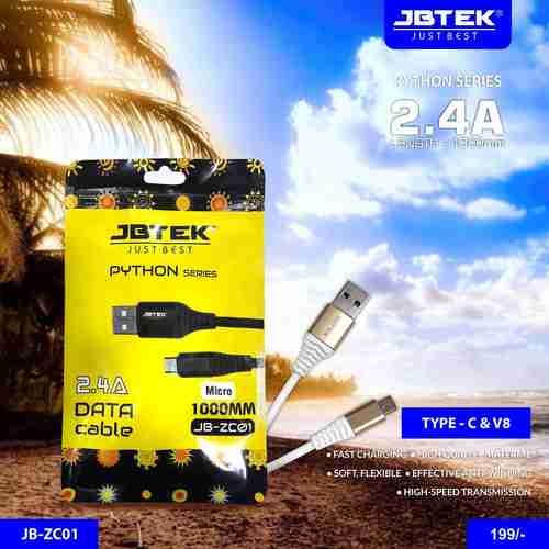JB-ZC01 V8 Fast Charging Data Cable