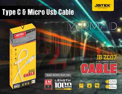 JB-Z207MV8 Fast Charging Data Cable