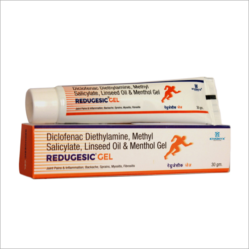 Diclofenac Diethylamine Methyl Salicylate Linseed Oil And Menthol Gel