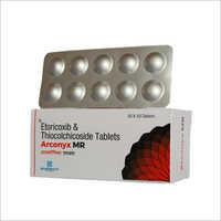 Etoricoxib And Thiocolchioside Tablets