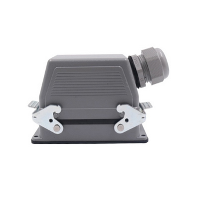 48 Pin 16 Amp Heavy Duty Connector Bottom Open Side Entry