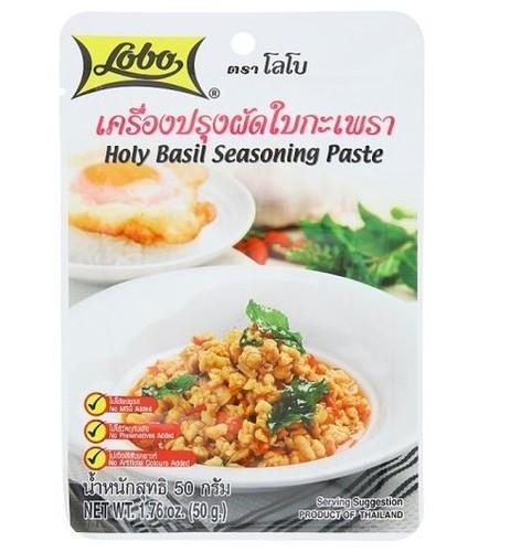 50 grams Lobo Stir-Fry Basil Ingredients