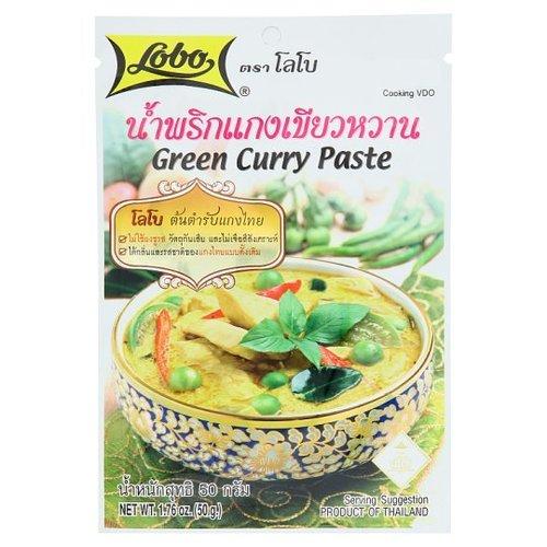 50 grams Lobo Green Curry Paste