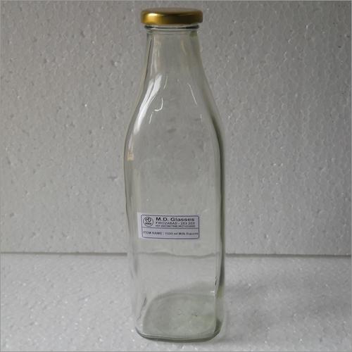 Square 1000 Ml Milk Bottle