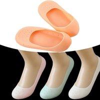 Full Silicone Moisturizing Socks (Random Color)