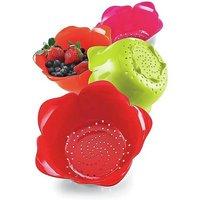 Rose Shape Strainer Basket