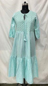 Linen Designer Dresses