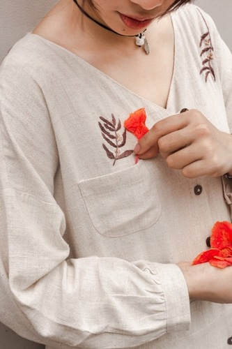 Linen Shirt For Ladies