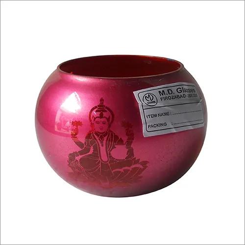 Round Glass Votive Laxmi