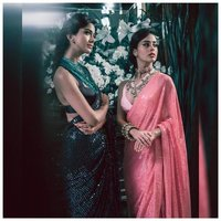 Rembo Sequence Work On Saree