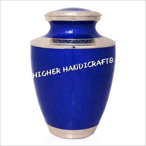 Royal Blue Cremation Urn