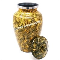 Yellow Forest Cremation Urn
