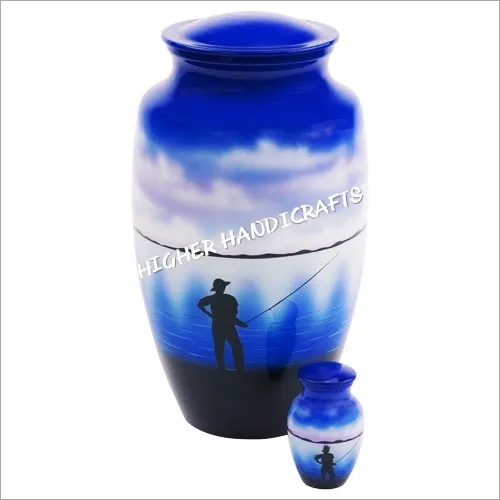 Fishing Cremation Urn