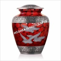 Red Fire Eagles Urn