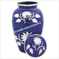 Grace Lavender Blue Cremation Urn