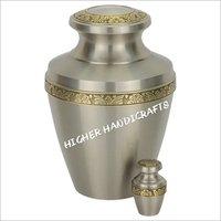 Odessa Brass Urn - Pewter