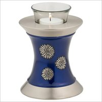 Flowers of Peace Tealight Urn