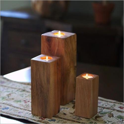 Handmade Wood Urn