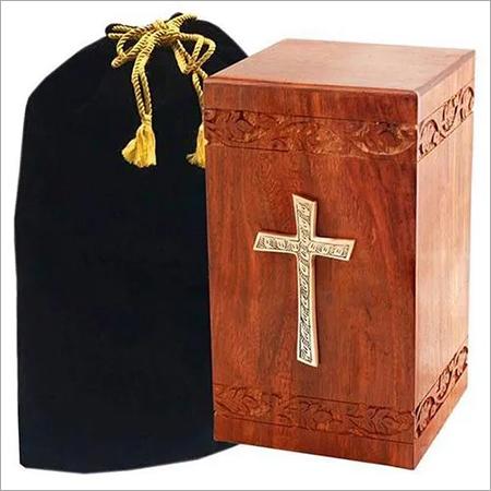 Decorative Wooden Urn