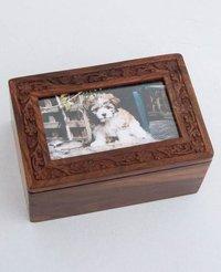 Wooden Pet Cremation Urn