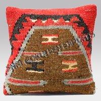 Designer Jute Kilim Cushion Covers For Festivals Home Decor