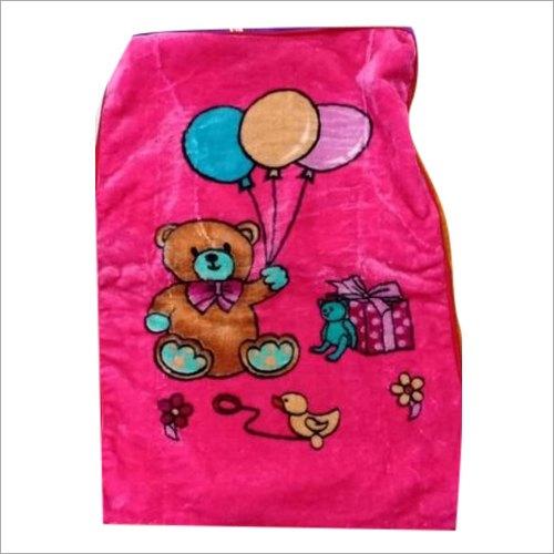 Polyester Mink Baby Blanket