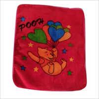 Pooh Printed Baby Blanket