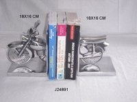Aluminum Book End Motorcycle