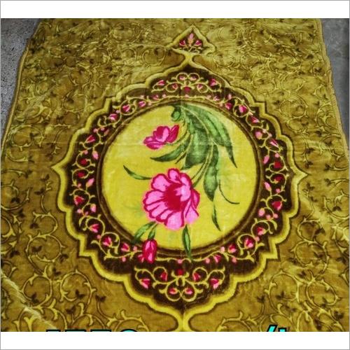 Floral Mink Bed Blanket