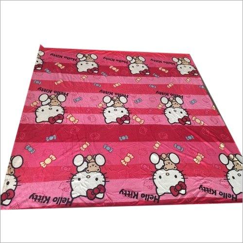 Kitty Print Polyester Blanket
